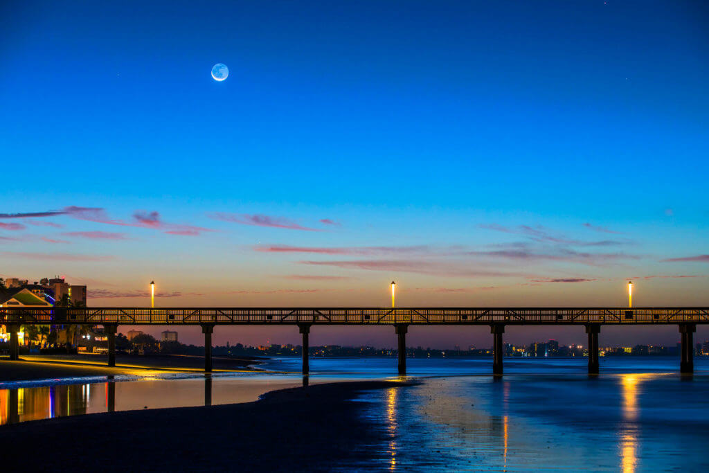Wagner Photography Pier Moon