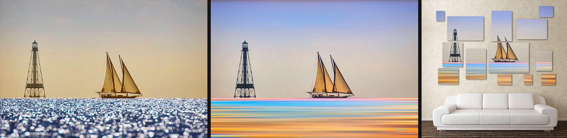 Sailboat Photographic Mosaic